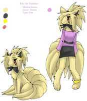 Ref-Emy the Ninetales by FENNEKlNS