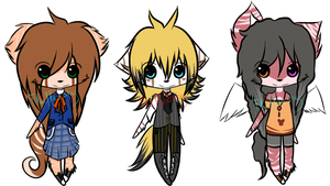Adoptables $2 per one SOLD by Diamonari-chan
