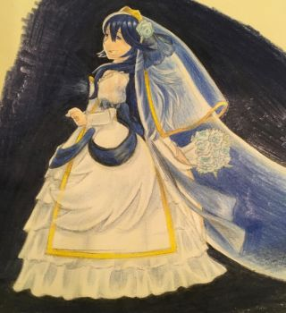 Bride Lucina (colored) by nuttyfangirl7