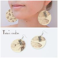 Earrings ''Dragonfly'' by Taisa-Winged
