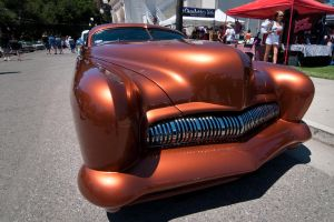 Golden State Custom Cadillac ~ Head On by SharkHarrington