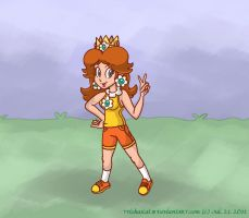 Princess Daisy by TrishaKat