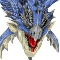 Blue Rathalos by kaizer33226