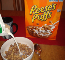 Reese's puffs cereals by Enricthepenguin92