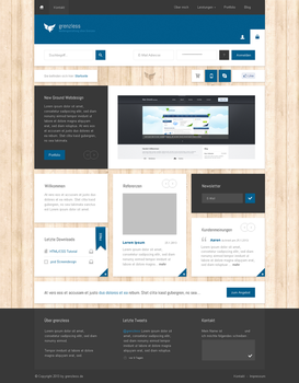 grenzless - Home page by callofsorrow