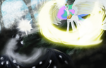 Celestia vs Lord Nihlus by AtomicWarpin