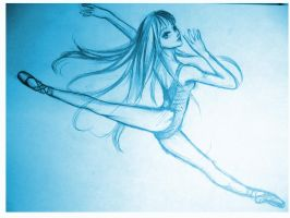 Ballet Dancer 2 by MeliPeach-chan