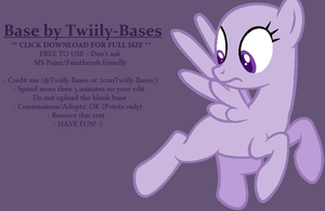 MLP Base 326 by Twiily-Bases
