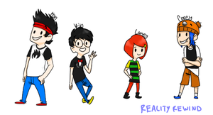 Grojband Chibis by RealityRewind