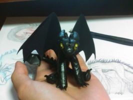 mini toothless by Aireane01