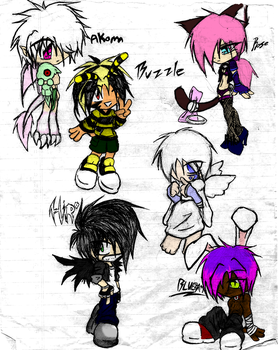 lil people chara designs? by zoesensei