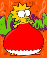 BLOAToons - Lisa Simpson by AxleGrease-75
