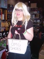 OMG Shoes - Kelly at the Expo by Youmikori