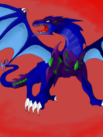 My dragon colored by Nami-v