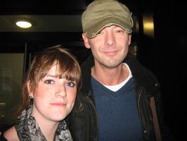 Me and John Simm by Amyy-x3