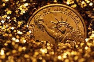 Liberty, Buried In Gold by Matthileo