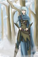 Winter elf by AlyaW