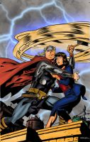 Thor and jane by richrow