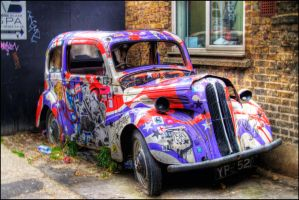Camden car by fireoyster