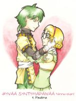 Ferio and Fuu for Ninnu by SS-Chan