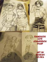 RamenCon 2013 Commission Dump by kojika