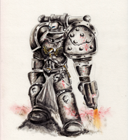 Space Marine by yua-san