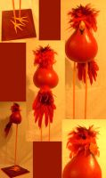 Gourd Cardinal by bberry06