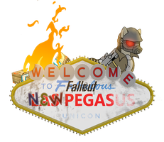 [MLP Icon] Fallout:NV - Las Pegasus Unicon Edition by pavelgun93