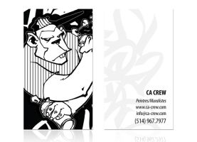 CA - business card by MrHavok