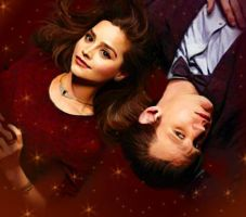 Clara Oswald and The Doctor by Loeselit