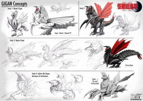 Gigan Concepts by LDN-RDNT