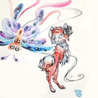 nameless red dog by quickspace