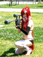 Yoko Ready Shot by Aniki-Fair