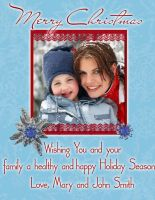 Christmas Card Sample by sevymama