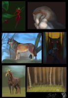 Speedpaintings compilation N2 by Jahary