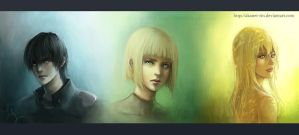 Claymore Portraits TWO by pseudolirium