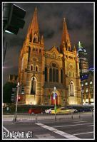 St. Paul Cathedral, Melbourne by Flanegan