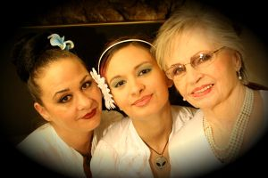 Make-up by Maeve *3 generations by BluexMommy