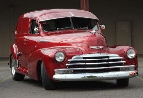 '47 Chevy Sedan delivery by finhead4ever