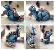 Moro - Mini Beast Sculpture by LuxDani