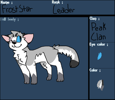 Froststar Reference by dinosaur-rar