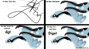 4 Step Fakemon by Hyperagua
