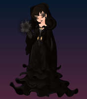 RotG: OC Raven-Night Black by xXDanielPhantomXx