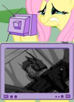 Fluttercry - Prime's death by Trey-Vore