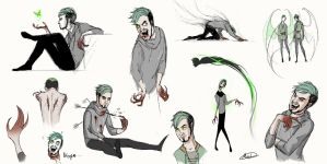 Antisepticeye sketch by maskman626
