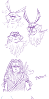 ROTG sketchdump 2 by Violac