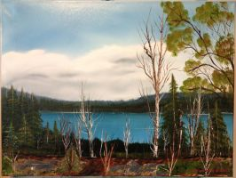 Crooked Lake, NFLD by FrankLoria