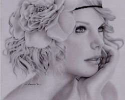 taylor swift by spolarium626