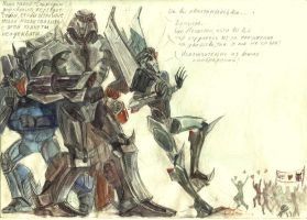 TFP decepticon vs fans by Unita-N