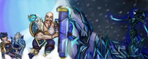 Braum, the Protector by loljuny
